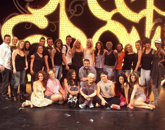 Joey Fatone, Holly Madision, Josh Strickland and cast of PEEPSHOW