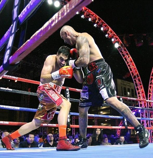 "Joey Ruelas vs JohBoxing action fills the air of Downtown Vegas! Presented by Roy Jones Jr. , ""Knockout Night at the D"" returns to the Downtown Las Vegas Events Center across from the D Las Vegasn Vera at ""Knockout Night at the D Las Vegas"