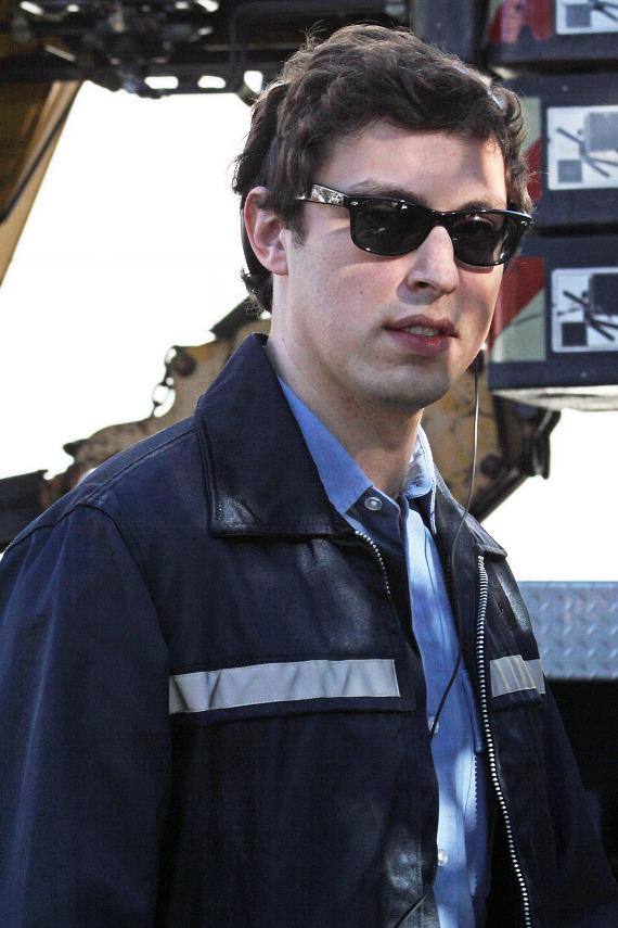 John Daley filming Burt Wonderstone in Las Vegas