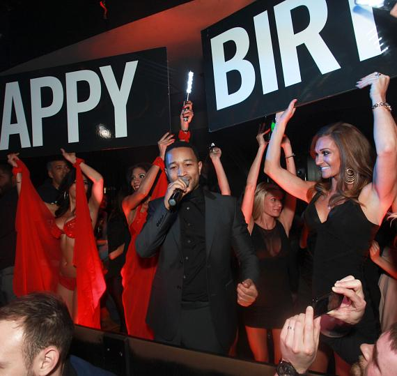 John Legend Performs at the 1 OAK Nightclub One-Year Anniversary Party