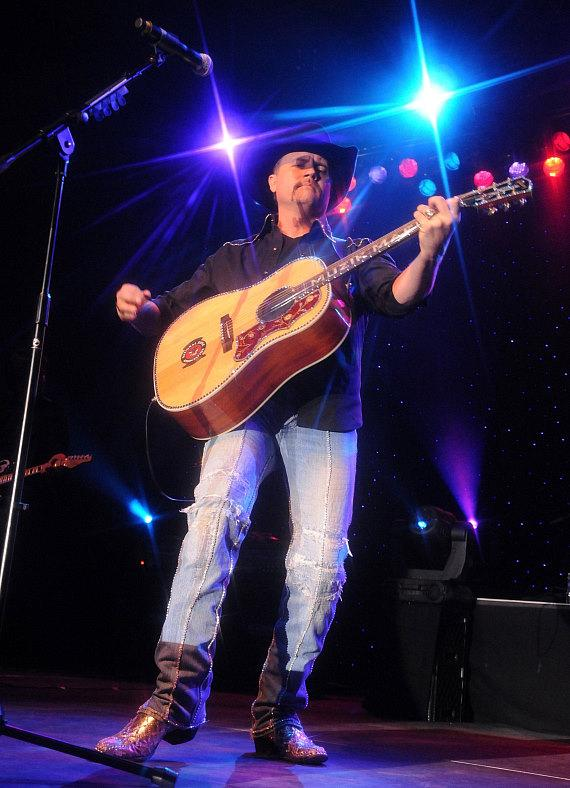 Country Singer John Rich Performs at Eastside Cannery