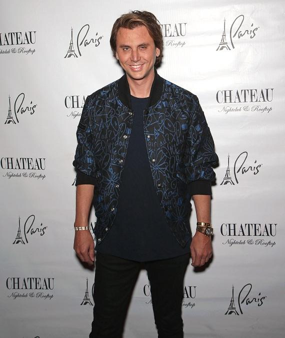 Jonathan Cheban on the Red Carpet at Chateau
