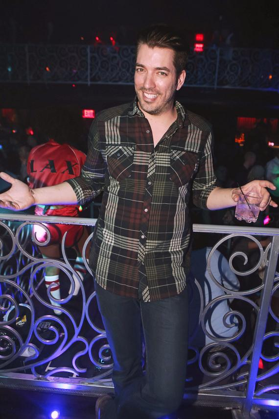 Jonathan Scott at Throwback Thursdays with Vanilla Ice at LAX