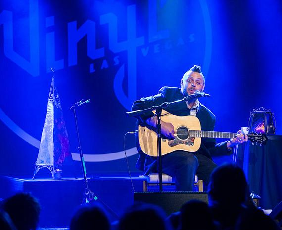 Justin Furstenfeld performs at Vinyl at Hard Rock Hotel Las Vegas