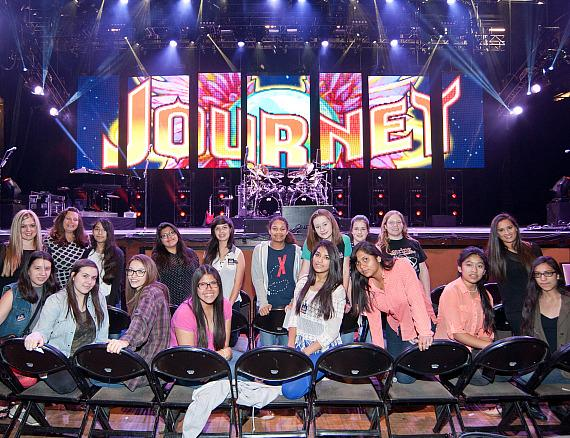 KO Knudson students at the Journey stage