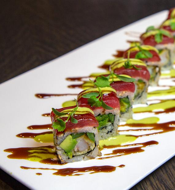 Kamikaze Roll at Sake Rok