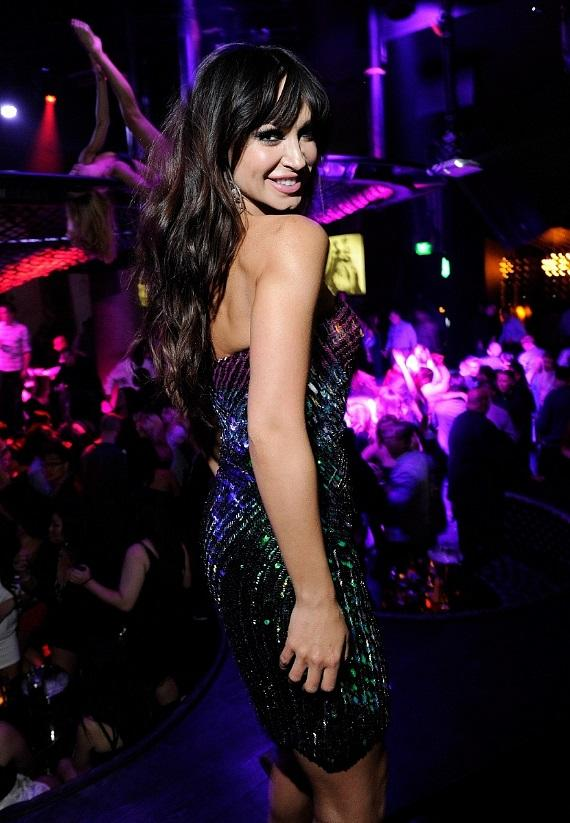 Karina Smirnoff dances at Gallery Nightclub
