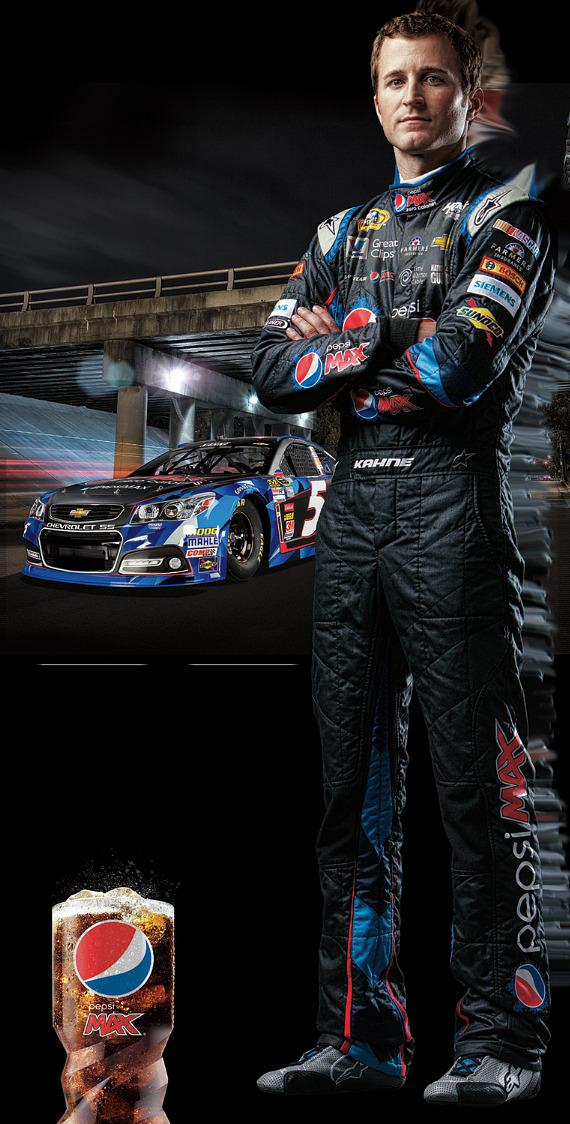 Carl Edwards, NASCAR driver of the No. 99 Fastenal Ford