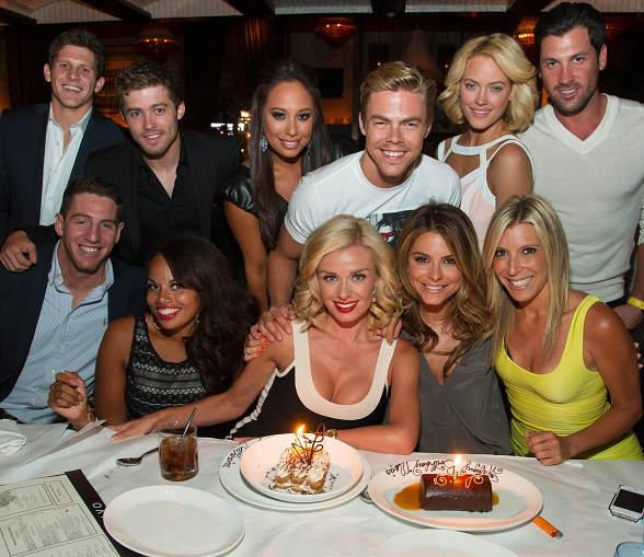 Dancing with the Stars dancers at LAVO