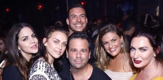 Lala Kent & Randall Emmett Celebrate Engagement at TAO & Marquee in Las Vegas