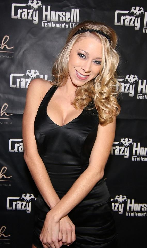Katie Morgan on the Red Carpet