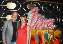 Kelsey Grammer and wife Kayte Walsh at Viva ELVIS by Cirque du Soleil