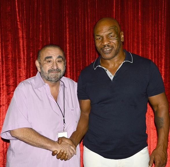 """Actor Ken Davitian attendsd """"Mike Tyson: Undisputed Truth"""" at MGM Grand Las Vegas"""