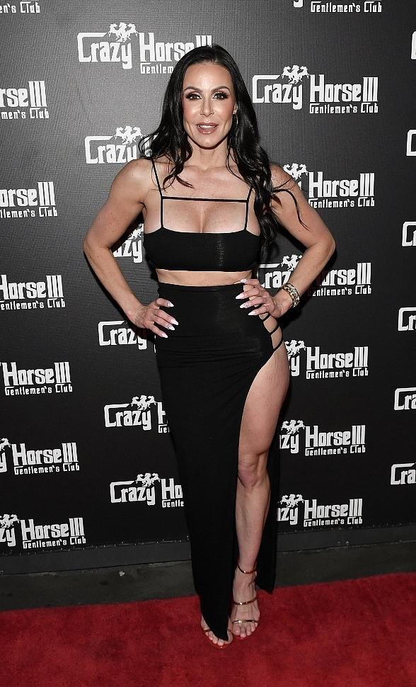 Kendra Lust on Crazy Horse 3 Red Carpet