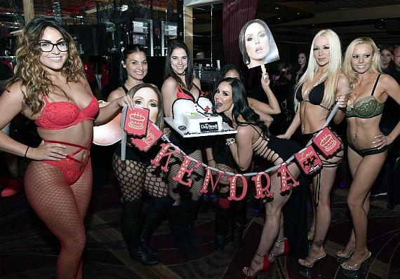 Kendra Lust Birthday Banner