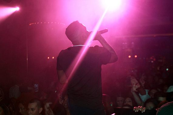 Kendrick Lamar performs at 1 OAK Nightclub