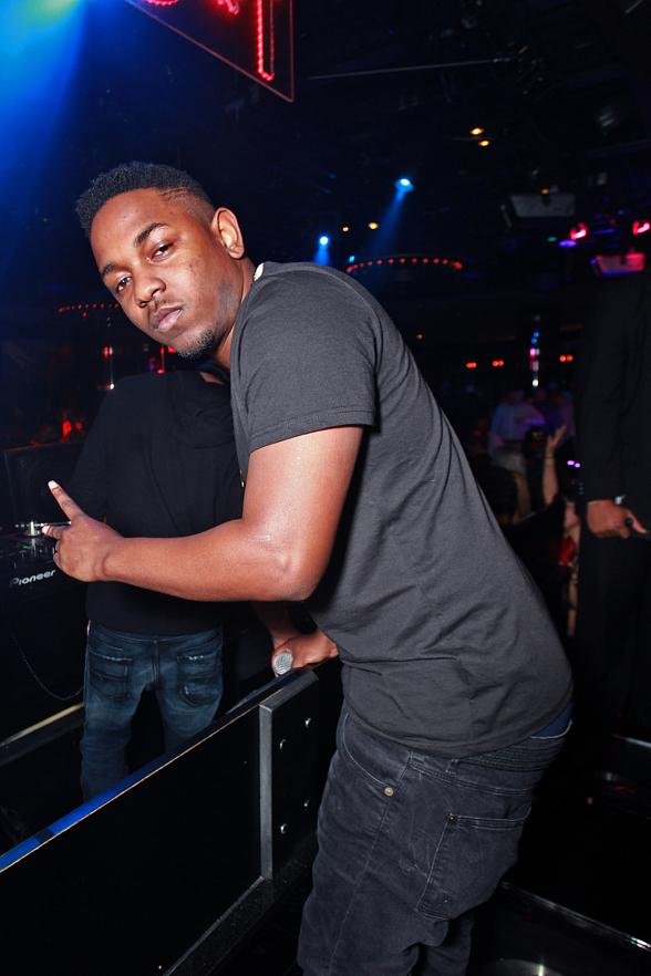 Kendrick Lamar at 1 OAK Nightclub