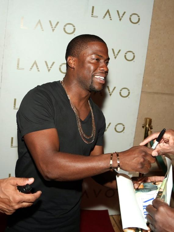 Kevin Hart on LAVO Red Carpet