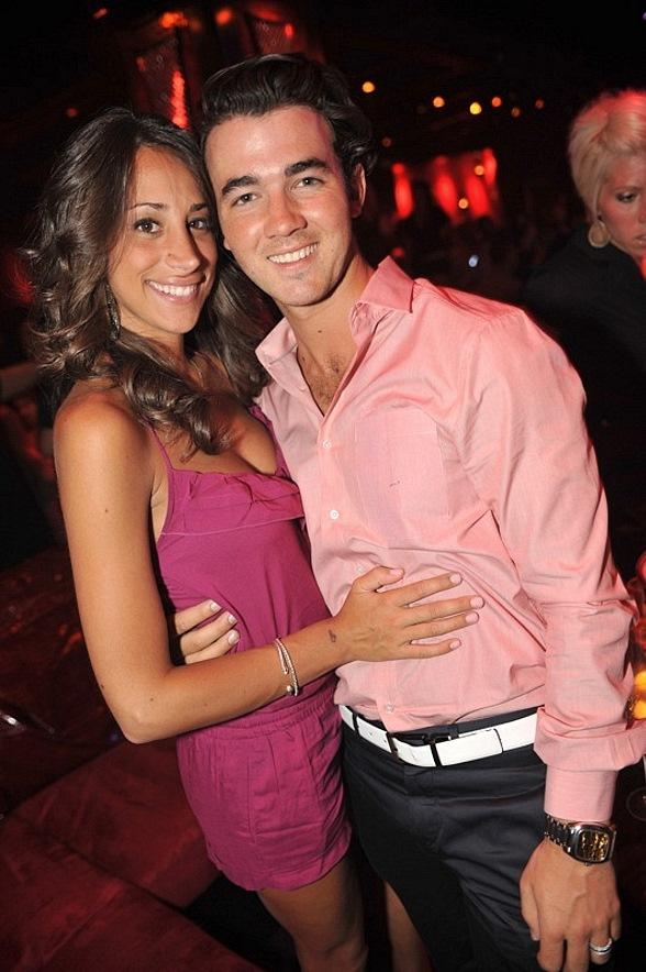 Kevin and Danielle Jonas at Tryst
