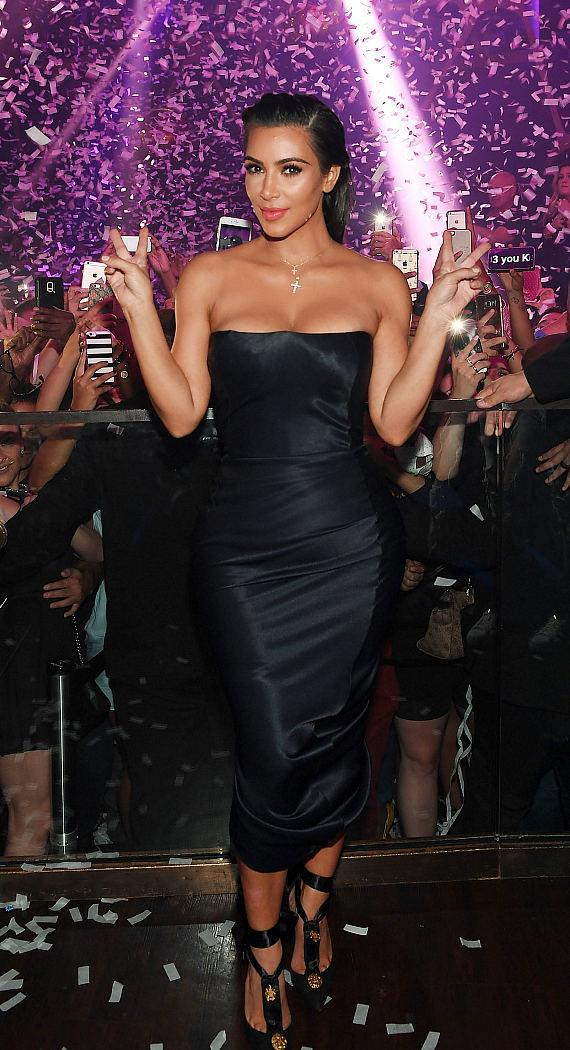 Kim Kardashian West hosts Hakkasan Las Vegas Nightclub