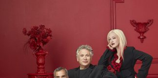 Kinky_Boots - Jerry Mitchell, Harvey Fierstein, and Cyndi Lauper