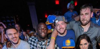Golden Start Warriors Celebrate NBA Championship at Marquee Nightclub in The Cosmopolitan