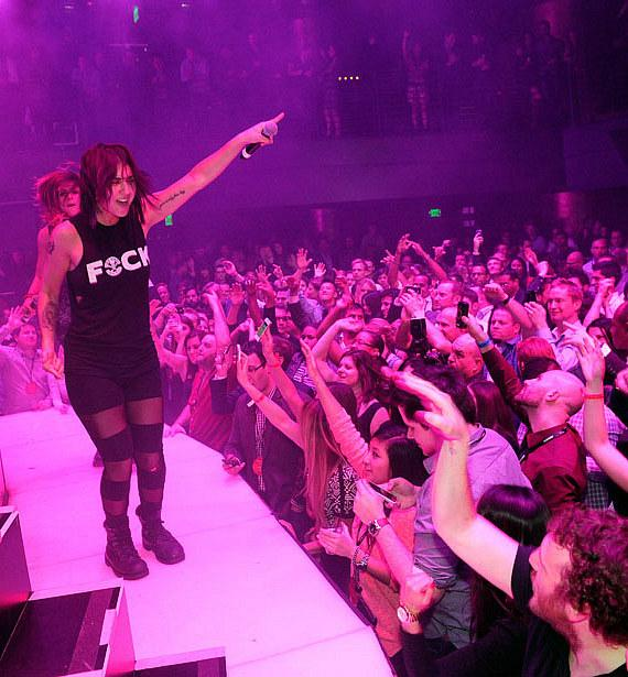 Krewella at HAZE at ARIA for iHeart Radio party