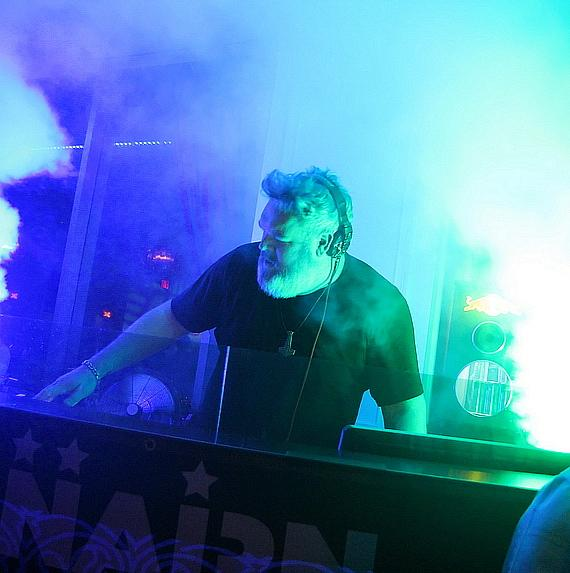 """Game of Thrones"" Star, Kristian Nairn, Hits the 1s and 2s during ""Rave of Thrones"" at Ghostbar inside Palms Casino Resort"
