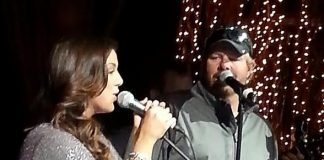 Toby Keith Joins Krystal Keith for a Performance at Santa Fe Station in Las Vegas