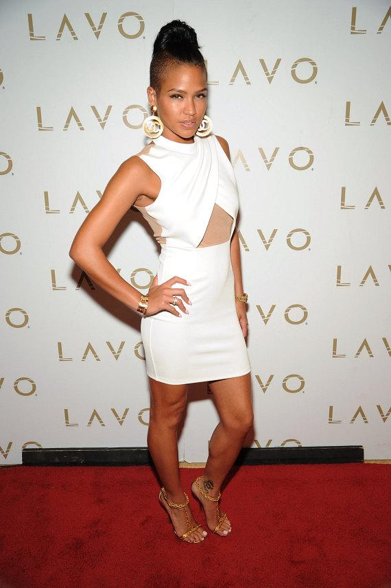 Cassie on Red Carpet at LAVO
