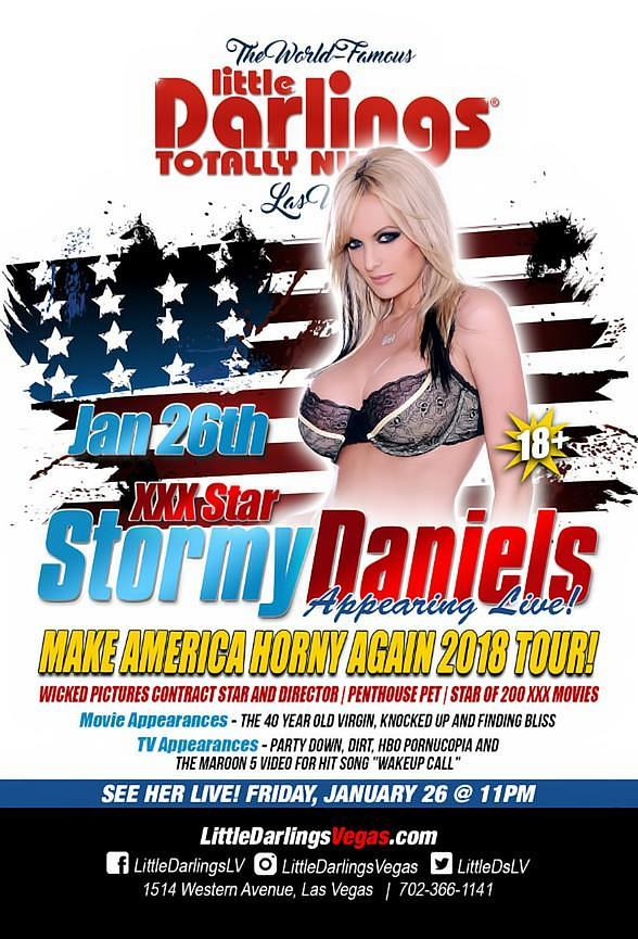 Las Vegas Strip Club Paying $75,000 to STORMY DANIELS for Featured Appearance!