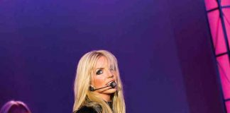 Katie Murdock performs at Britney Spears in Legends in Concert