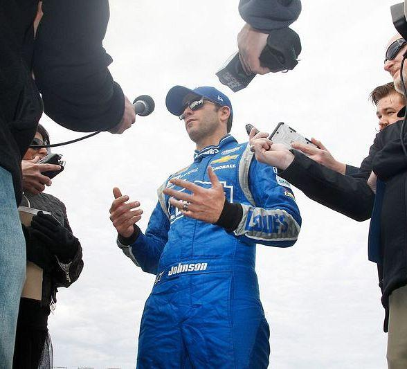 Drivers happy to be back on track for Goodyear Tire Test at LVMS