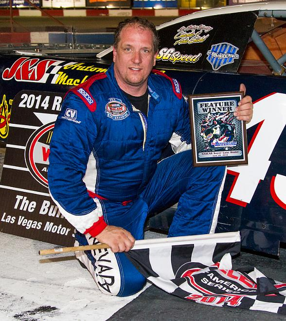 Scott Gafforini Notches Fifth Super Late Model Victory at The Bullring at LVMS