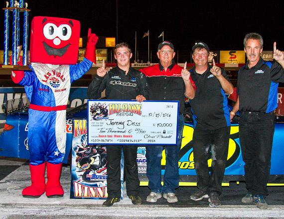 Jeremy Doss dominates Open Comp at The Bullring at Las Vegas Motor Speedway