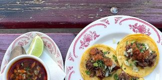 Besos, Birria, and Bubbly Complete Mother's Day Celebrations at La Comida