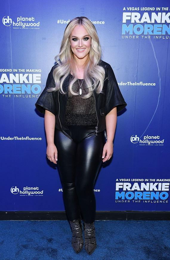 Lacey Schwimmer at Opening Night of FRANKIE MORENO – UNDER THE INFLUENCE at Planet Hollywood Resort & Casino