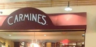 Lacy Schwimmer at Carmine's