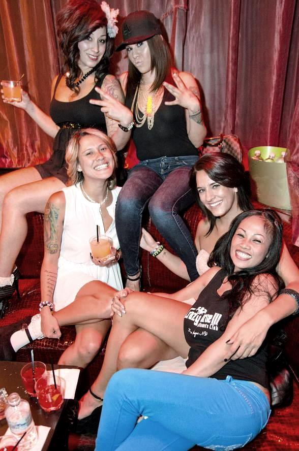 Ladies of Crazy Horse III Host Famed 'Reload' Party at LAX Nightclub