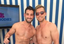 Lance Bass Parties with Us Weekly at Foxtail Pool Club inside SLS Las Vegas