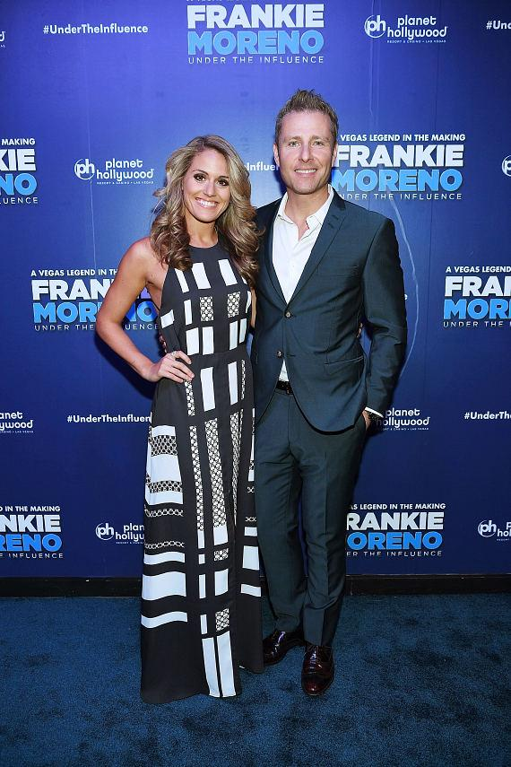 Las Vegas Headliner Paul Zerdin and Robyn Mellor at Opening Night of FRANKIE MORENO – UNDER THE INFLUENCE at Planet Hollywood Resort & Casino