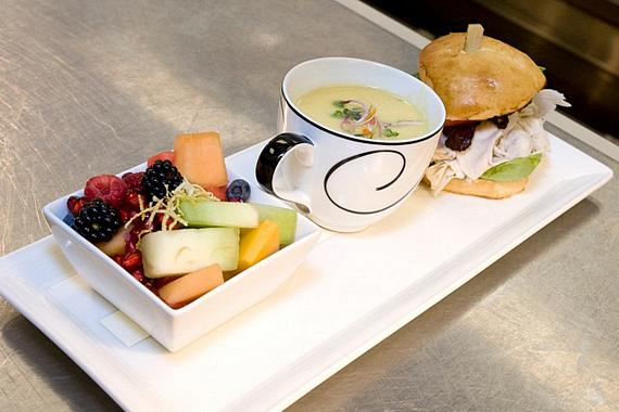 From Restaurant Week 2010, one of many delicious lunch options at Society Café Encore