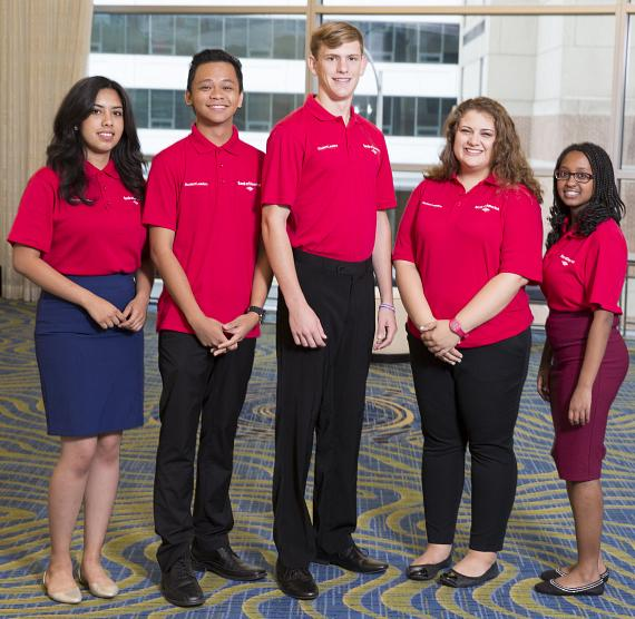 Student Leaders in Bank of America's Signature Program