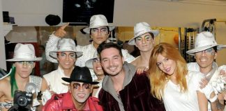 "Latin Grammy Nominee J. Balvin attends ""Michael Jackson ONE"" by Cirque du Soleil"