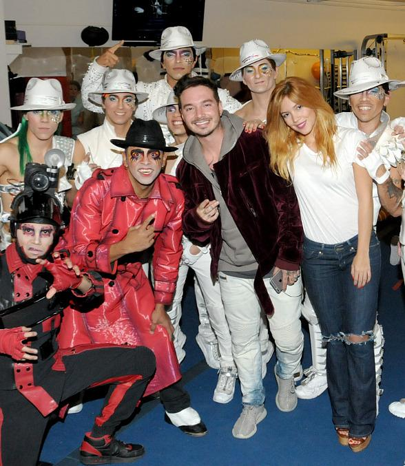 Latin Grammy Nominee J. Balvin attends