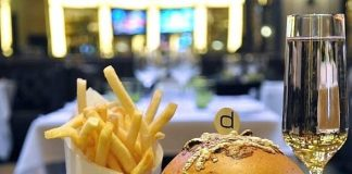 db Brasserie Celebrates First Anniversary at The Venetian with Special Le Grande Burger