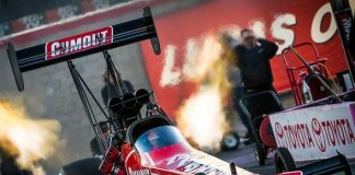 Pritchett Looking Forward to 'Homecoming' in NHRA Toyota Nationals at The Strip at Las Vegas Motor Speedway