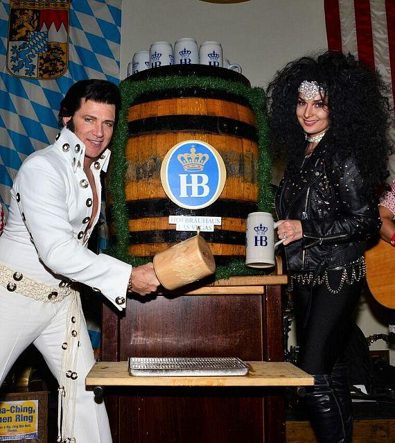 Cher and Elvis Presley tribute artists from the longest-running show on The Strip, Legends in Concert