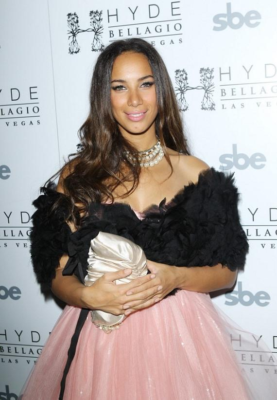 Leona Lewis at Hyde Bellagio, New Year's Eve