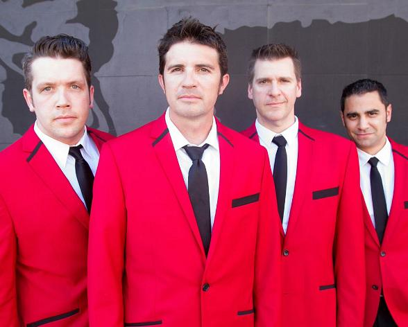 'Let's Hang On!' A Tribute to Frankie Valli and The Four Seasons Brings the Group's Iconic Classics to the Suncoast Showroom June 11-12